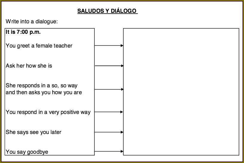 2nd Grade Worksheets In Spanish