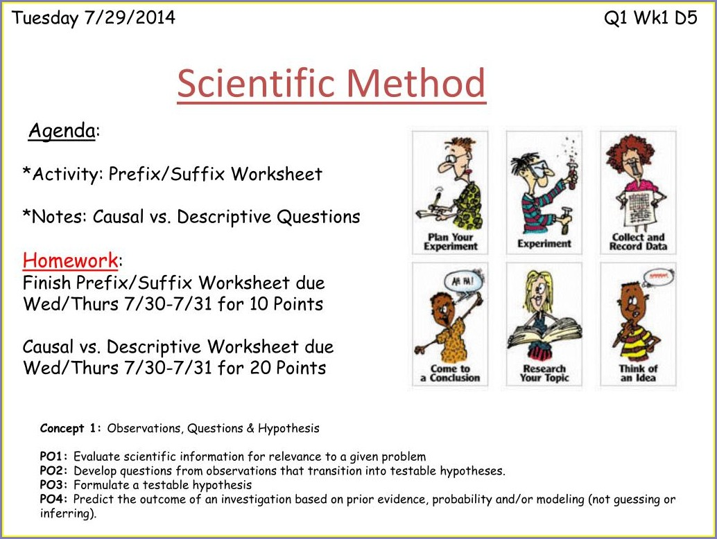 30 Scientific Method Expressions Worksheet Answers