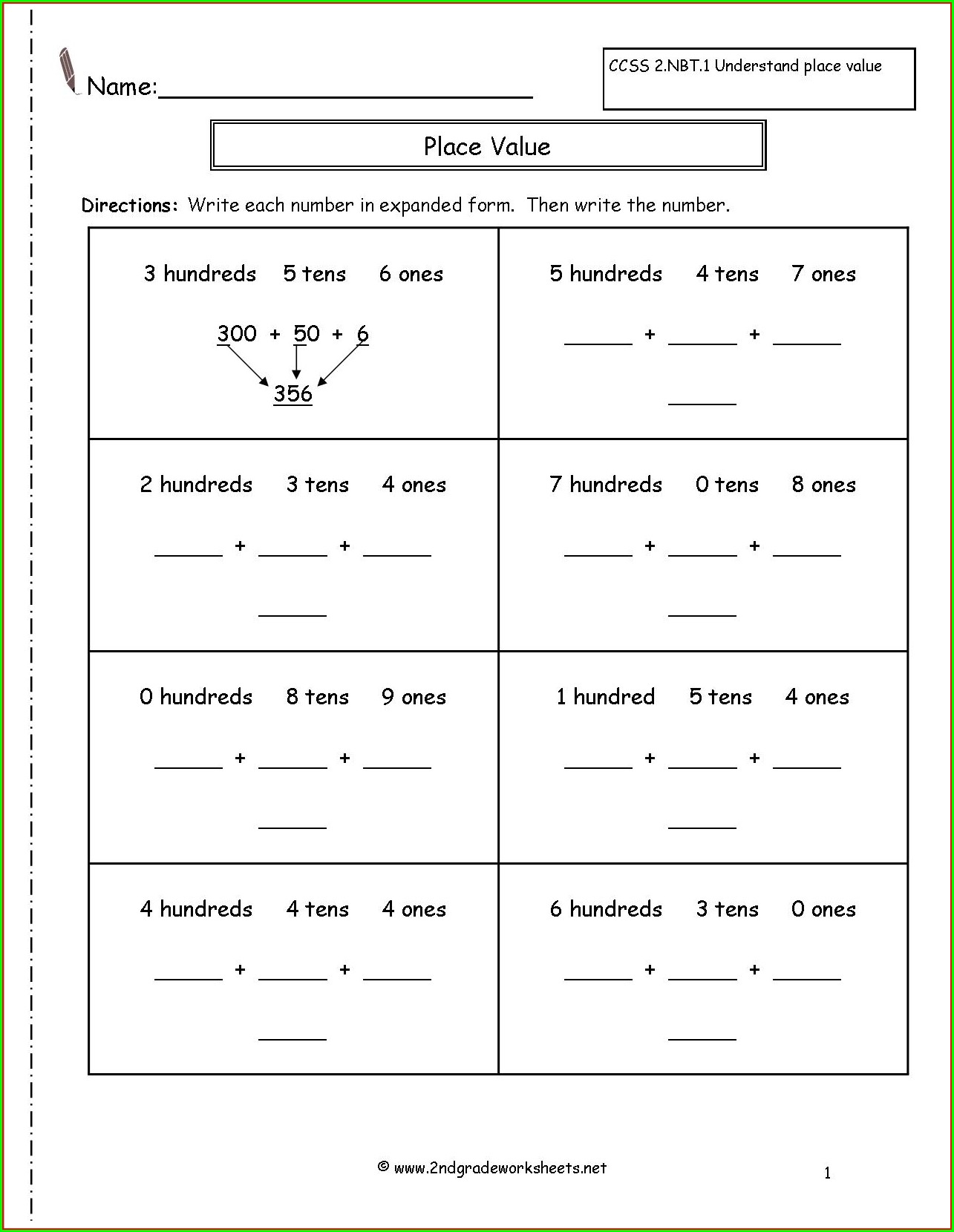 3rd Grade 2nd Grade Handwriting Worksheets