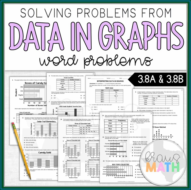 3rd Grade Data Worksheets