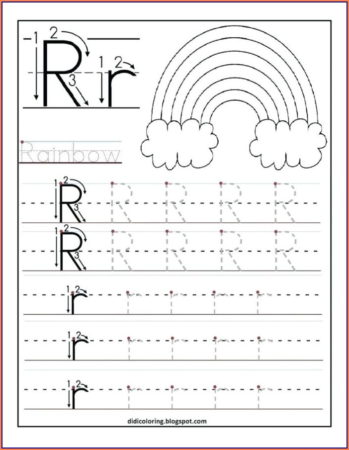 3rd Grade Handwriting Worksheets For Kids