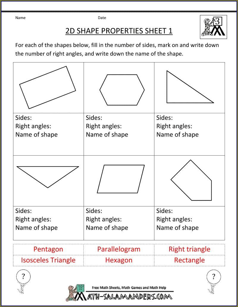 3rd Grade Math Review Worksheets
