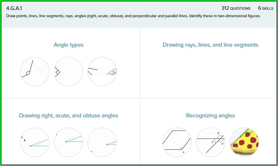 3rd Grade Math Worksheets Line Segments