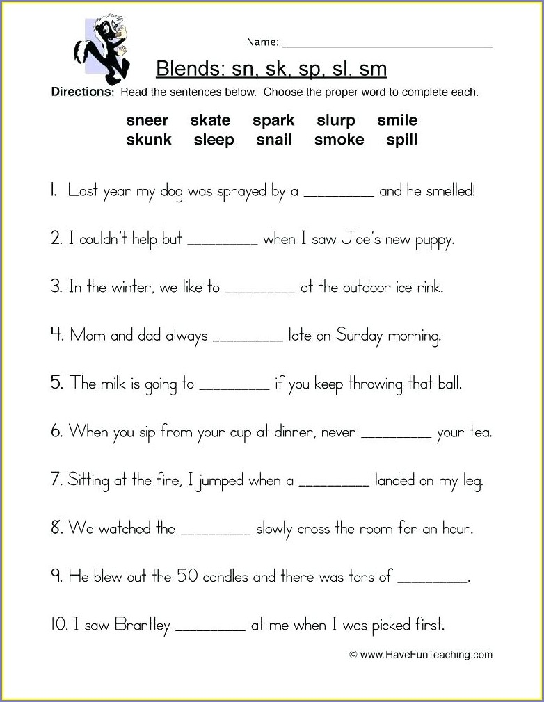 3rd Grade Phonics Worksheets Grade 2 Pdf
