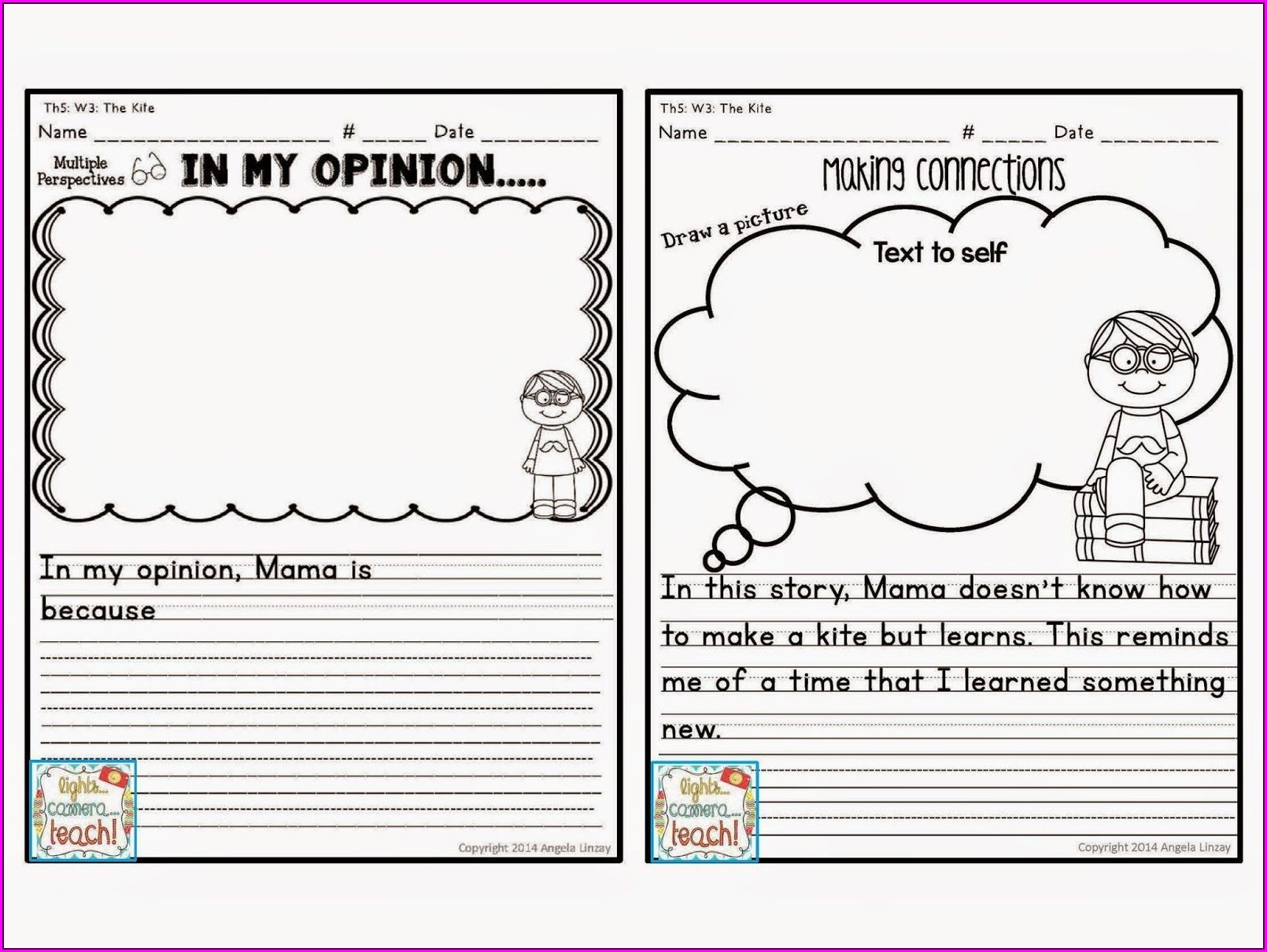 3rd Grade Story Map Worksheet