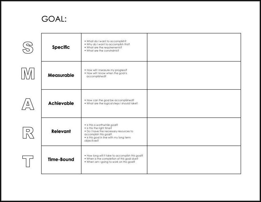 48 Days Goal Setting Worksheet
