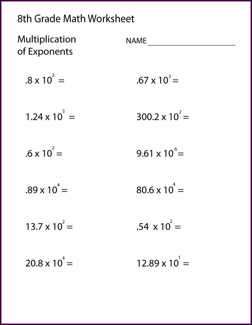 7th Grade Probability Worksheets Grade 8