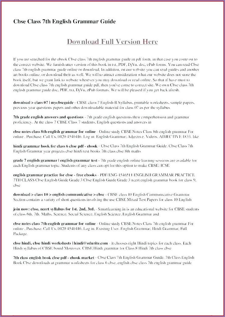 7th Grade Year 7 English Worksheets Free Printable