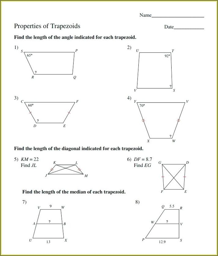 8th Grade Math Worksheet Grade 8