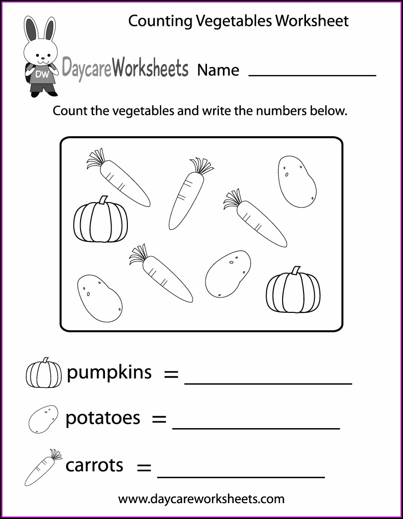 Activity Worksheet Of English For Nursery
