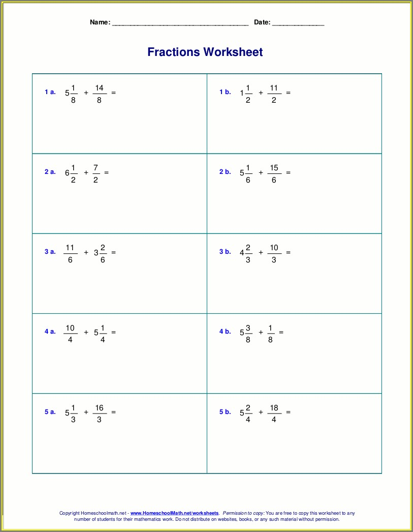 Adding And Subtracting Rational Numbers Worksheet 7th Grade Answers Key