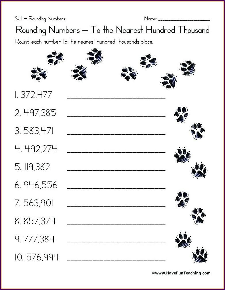 Addition Printable Grade 6 Math Worksheets