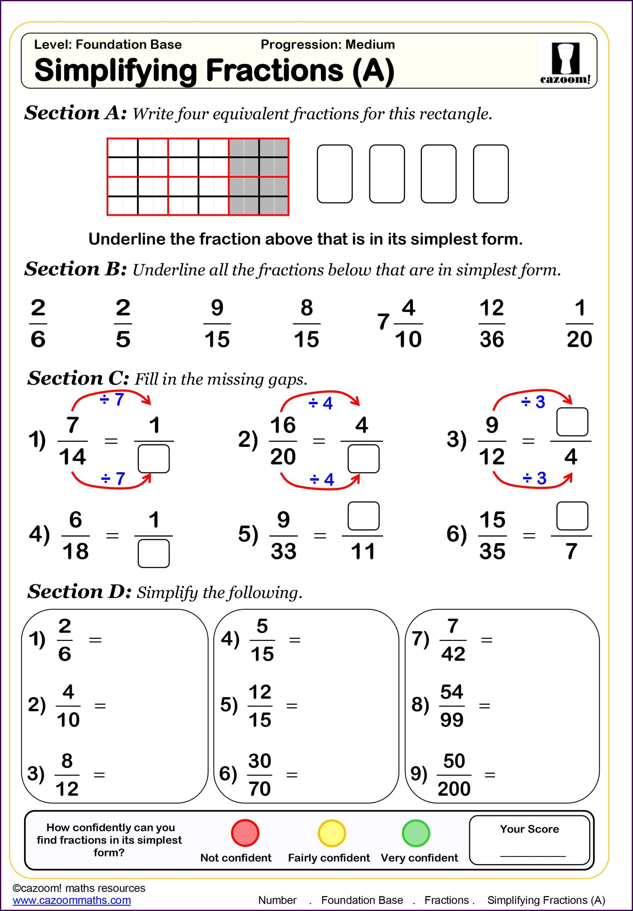 Algebra Worksheet For Grade 7