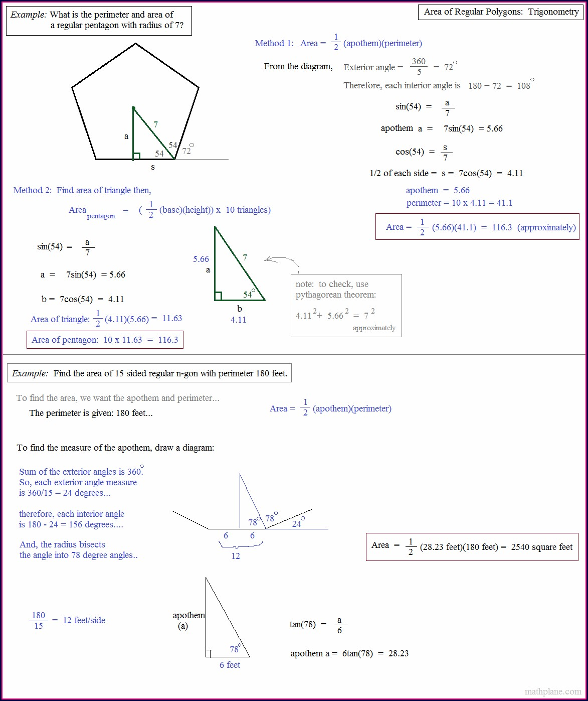 Areas Of Irregular Figures Worksheet 11 4