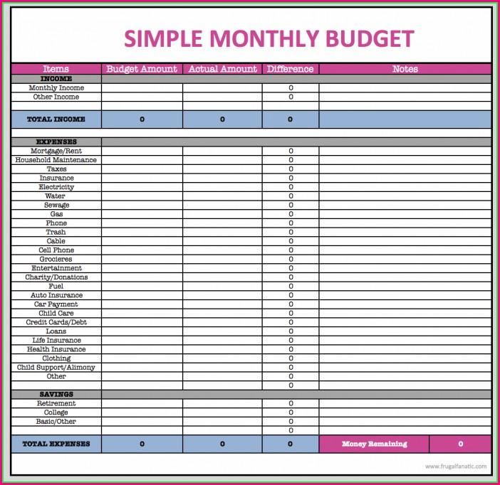 Budget Worksheet Google Docs