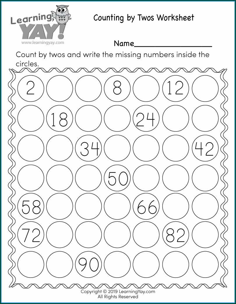 Comparing Numbers Worksheet 1st Grade