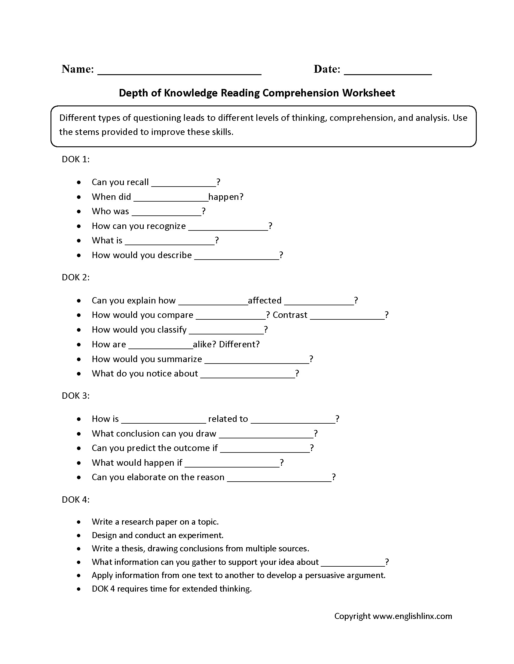 Comprehension Worksheets Ks1 Primary Resources
