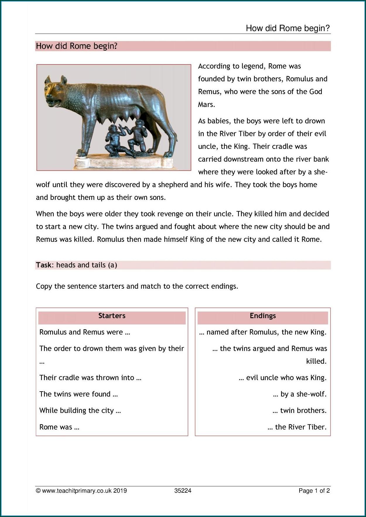 Comprehension Worksheets Uk Ks2