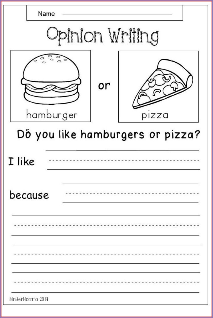 Creative Writing Worksheet For Grade 1