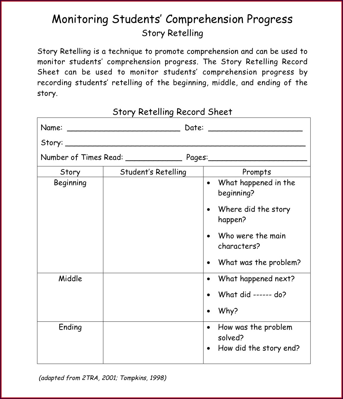 Cvc Reading Worksheet For Kindergarten