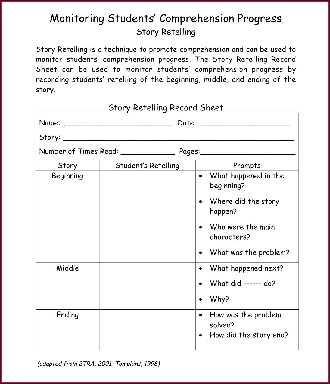 Cvc Reading Worksheet For Kindergarten