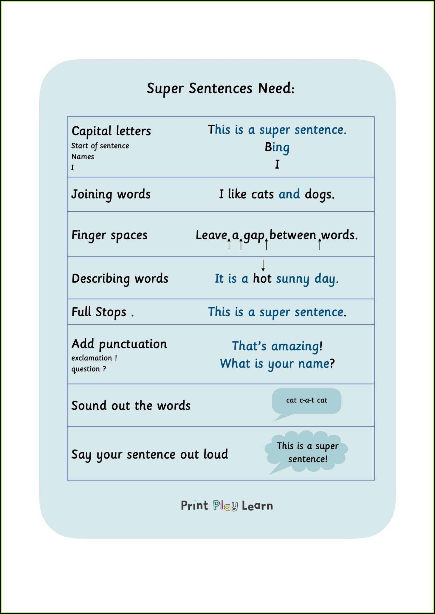 Describing Words Worksheet Ks1
