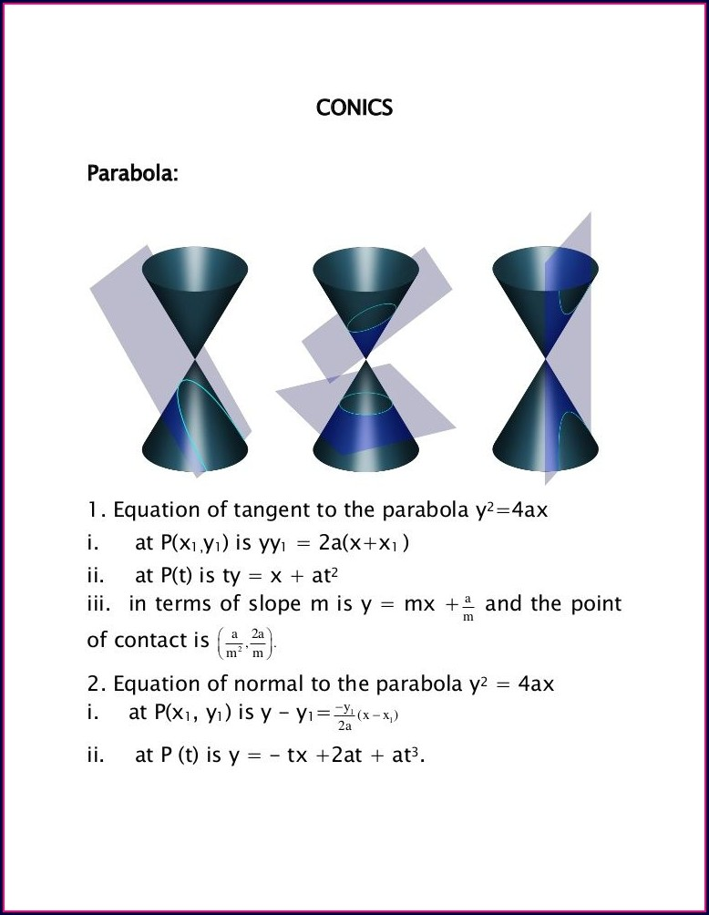 Ellipse Worksheet Integrated Algebra 2