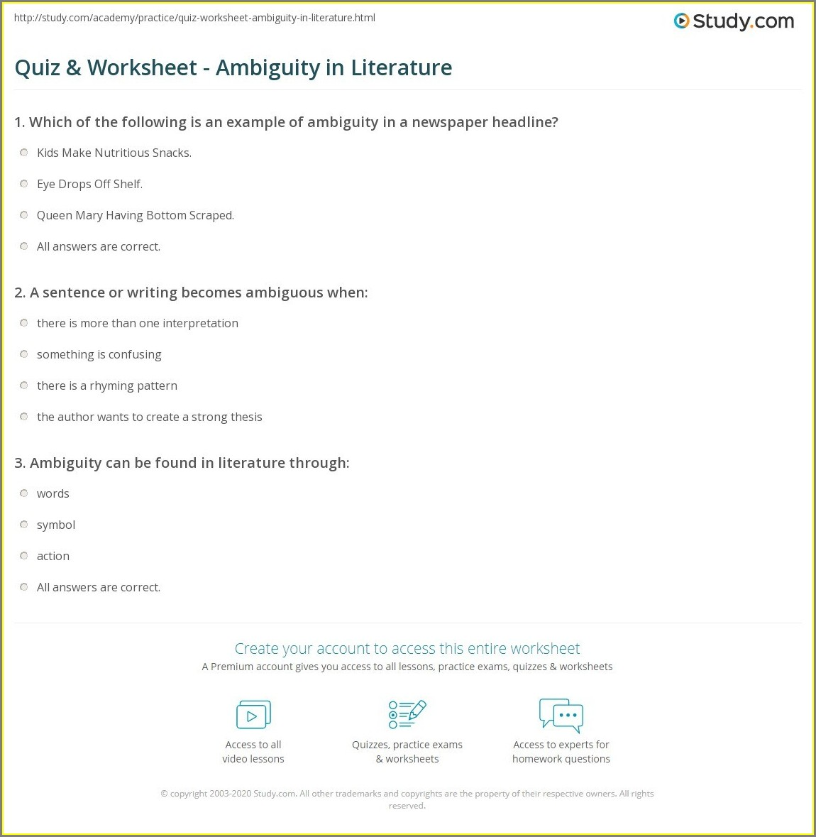 English Worksheets And Activities