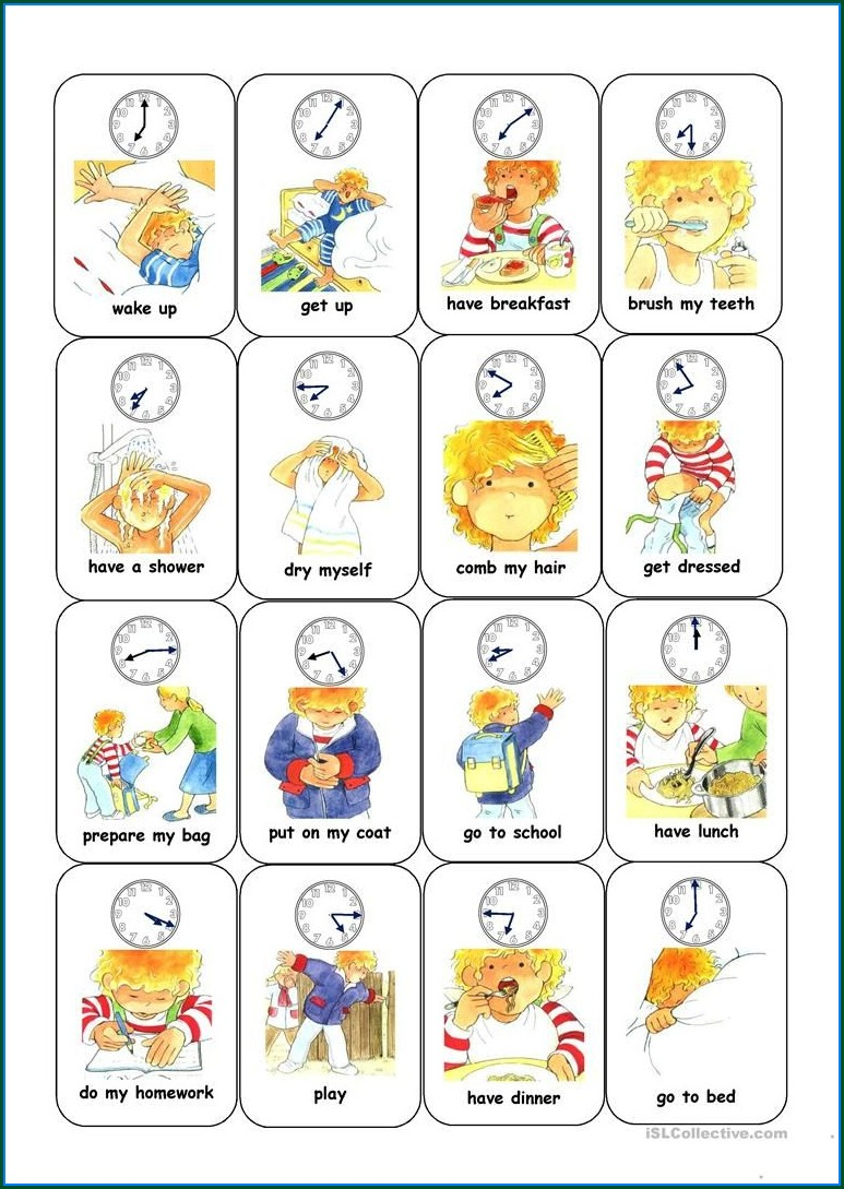 Esl Time Worksheets Pdf