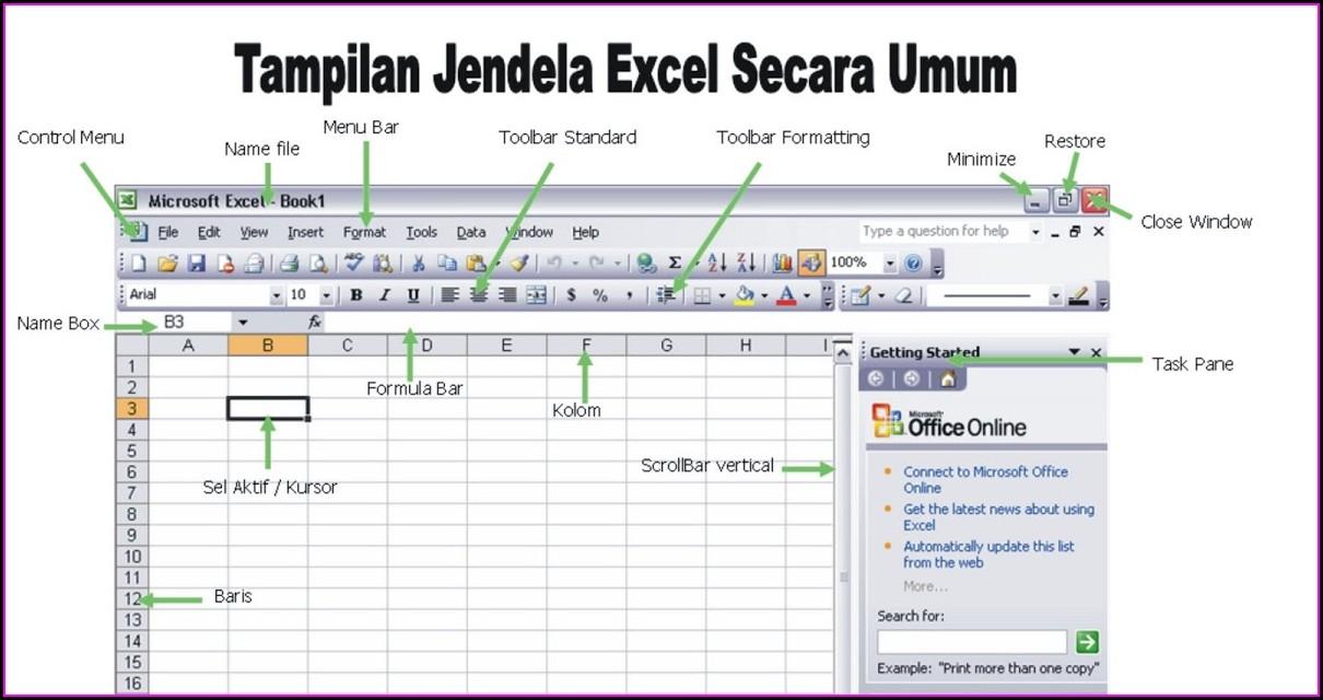 Excel 2003 Worksheet Menu Bar Missing