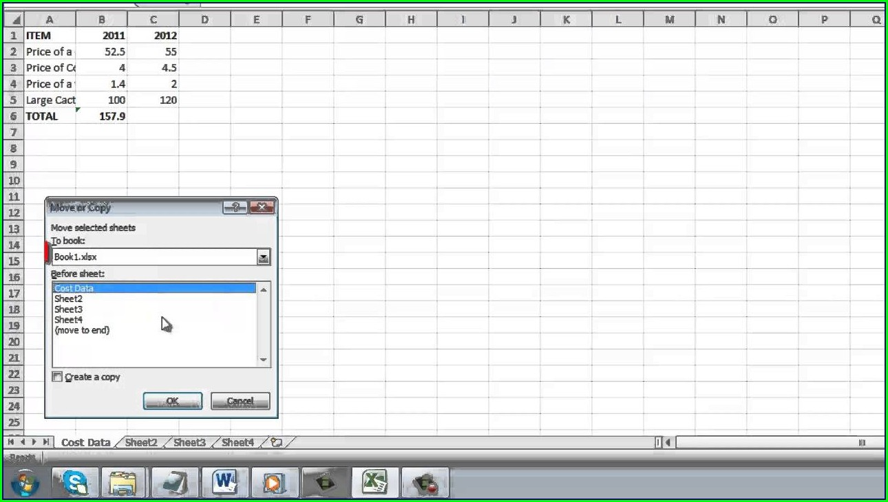 Excel Copy Worksheet To Another File