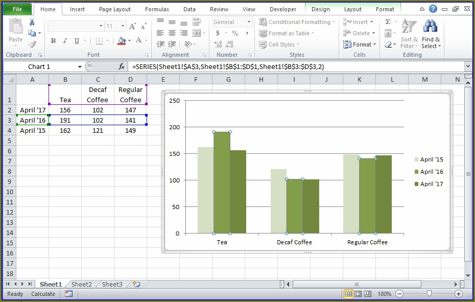 Excel Copy Worksheet With Graph