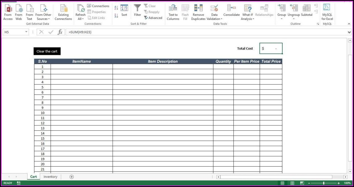 Excel Macro Sheet Clear