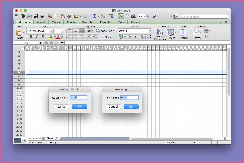 Excel Vba Column Width Cm