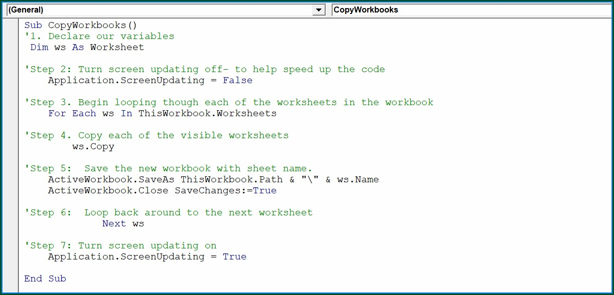Excel Vba Copy Worksheet To New Workbook And Save