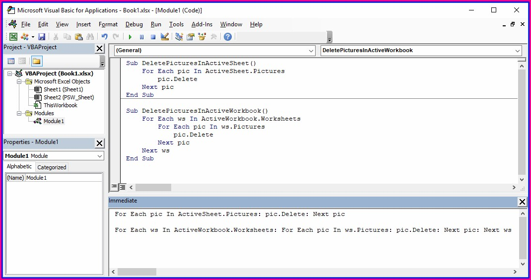 Excel Vba Delete All Workbook Names