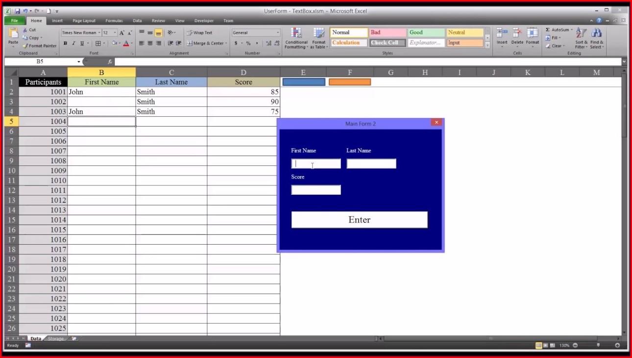 Excel Vba Insert Control On Worksheet