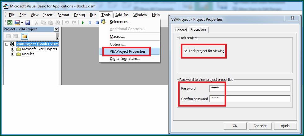 Excel Vba Protect Worksheet Properties