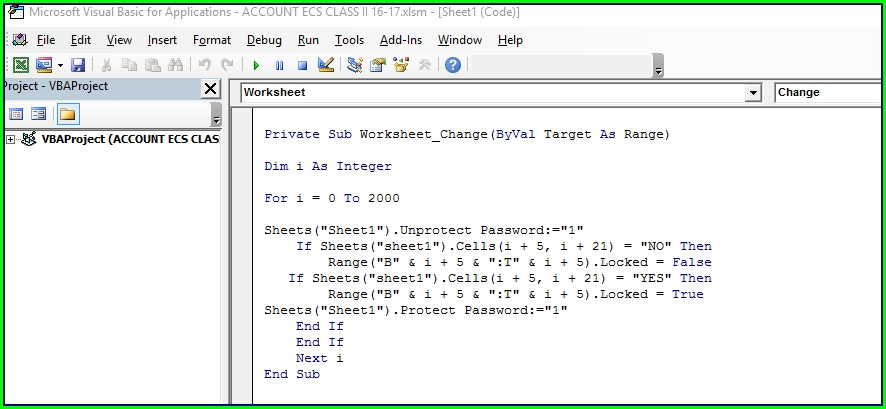 Excel Vba Protect Worksheet Userinterfaceonly