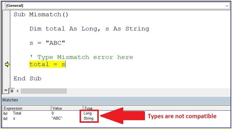 Excel Vba Sheet Name Type Mismatch