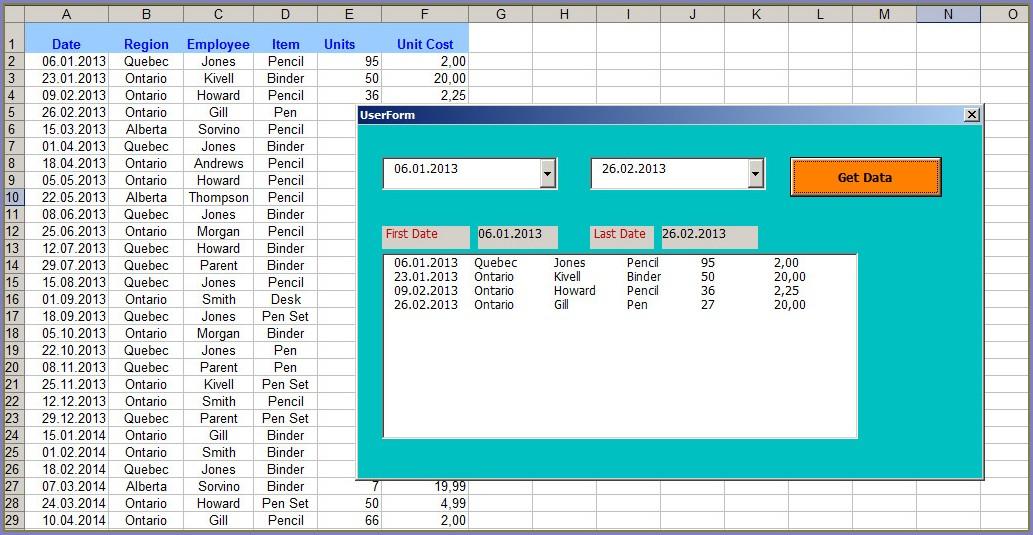 Excel Vba Sort Horizontally