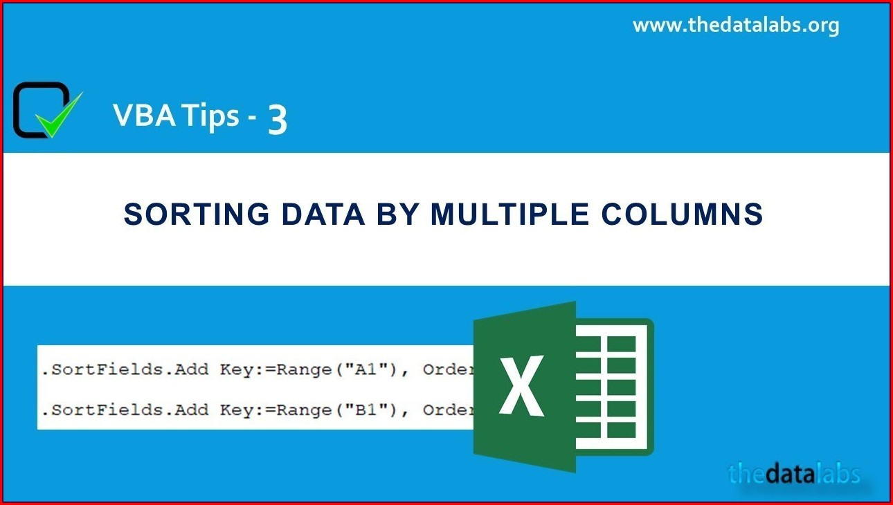 Excel Vba Sort Key 3
