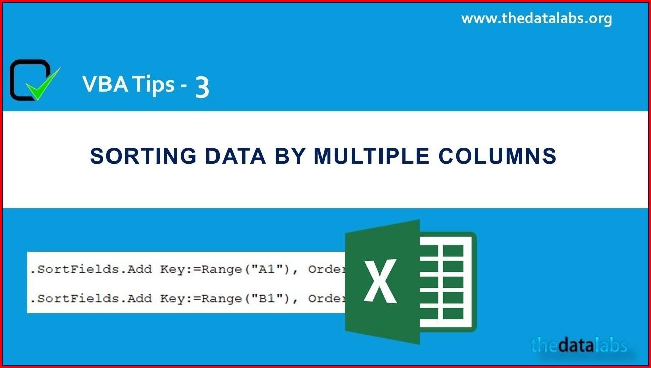 Excel Vba Sort Key 3