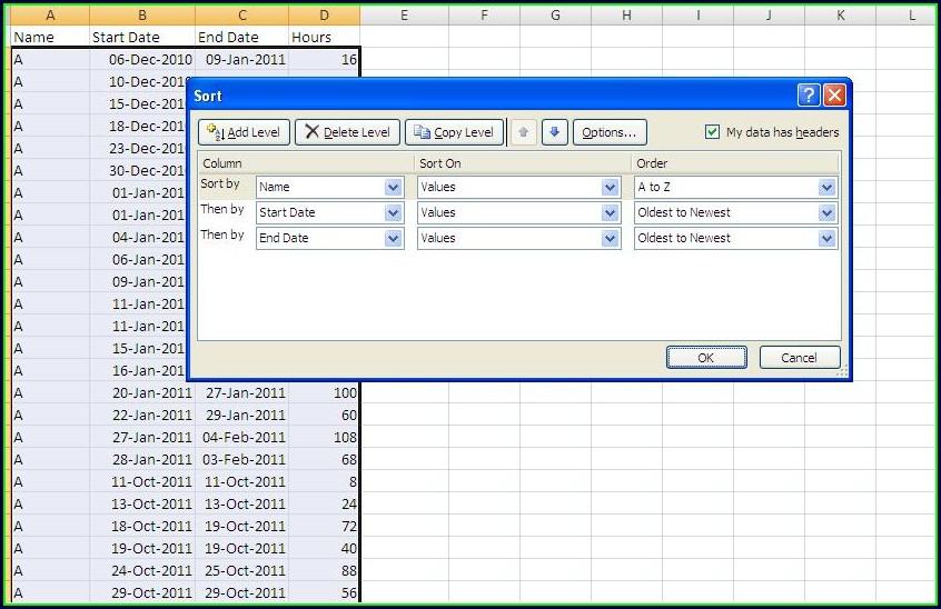 Excel Vba Sort Key2
