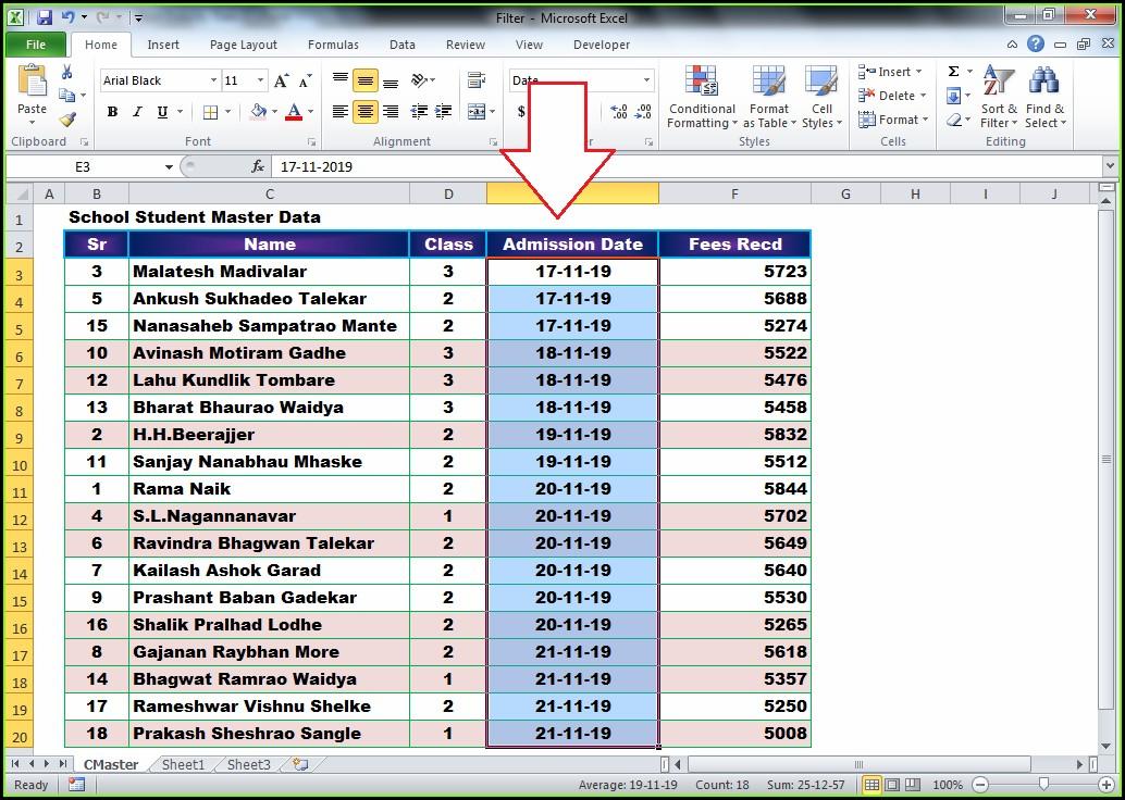 Excel Vba Sort Newest To Oldest