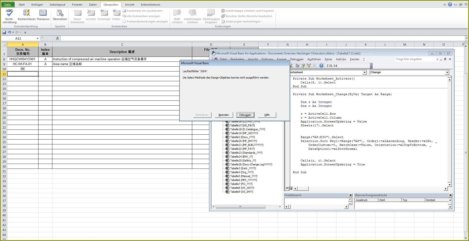 Excel Vba Sort Order