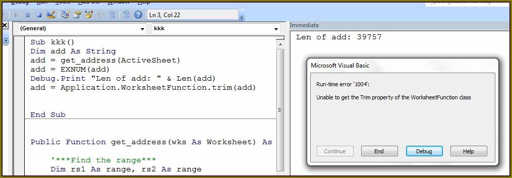 Excel Vba Speed Of Worksheetfunction