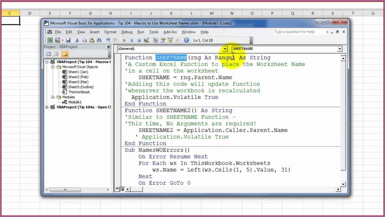 Excel Vba Worksheet Cells Function