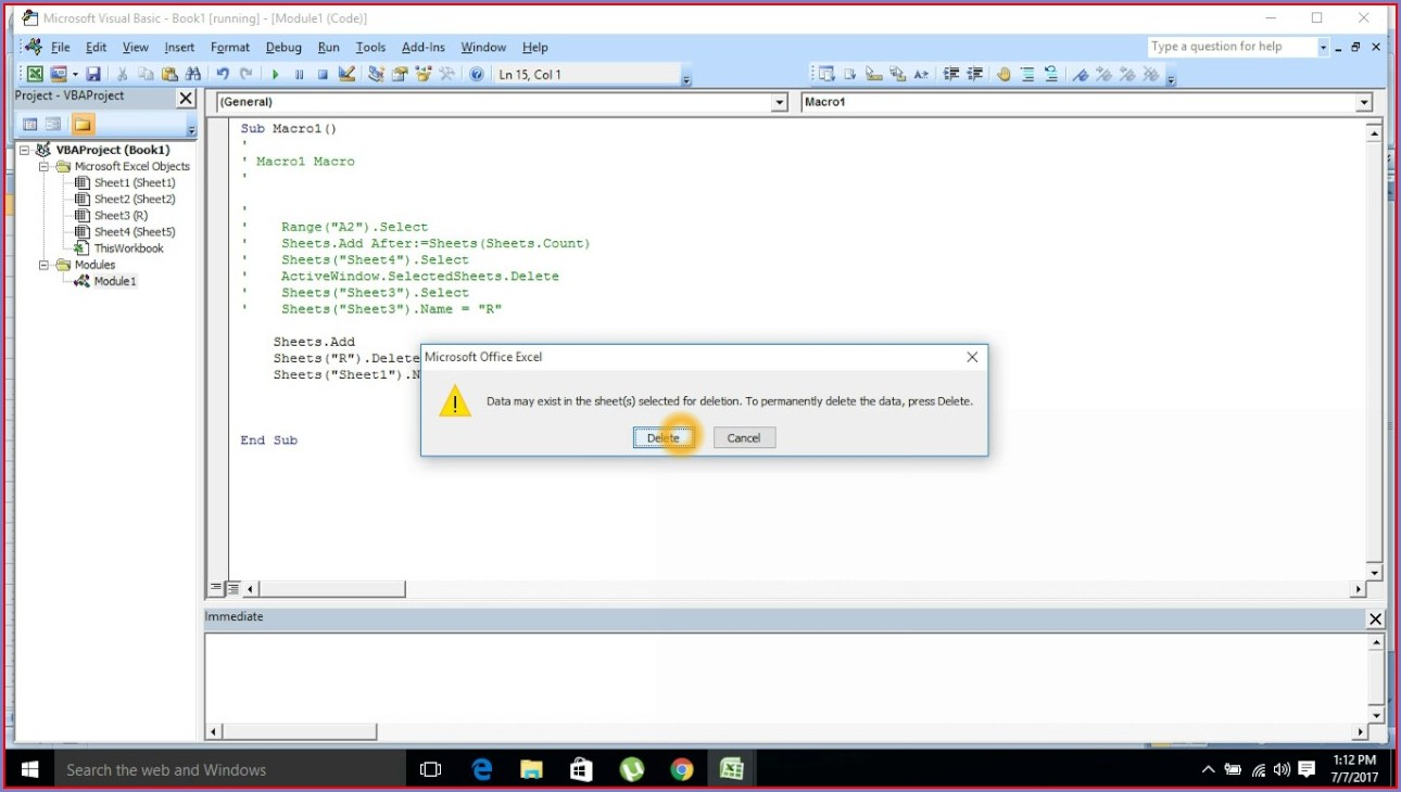 Excel Vba Worksheet Rename