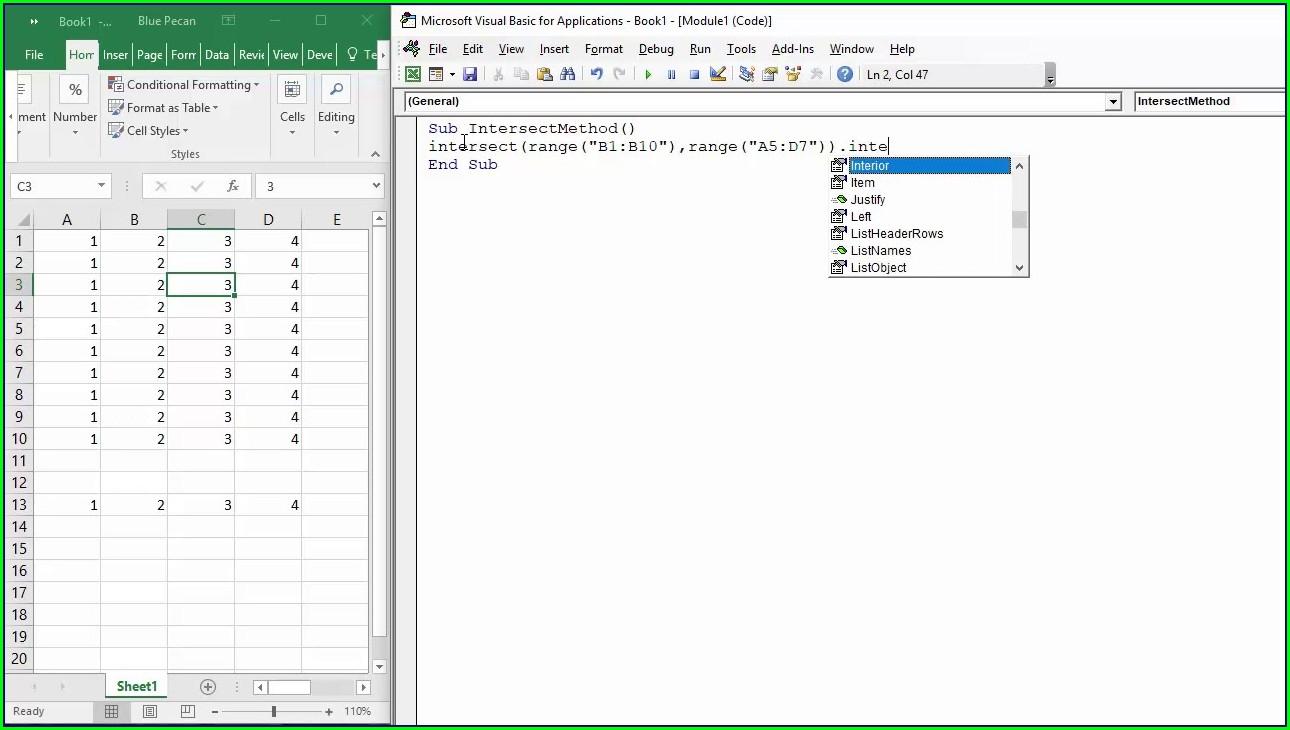 Excel Vba Worksheet Change Multiple Cells